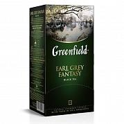 Чай черный Greenfield Earl grey fantasy 25 пак. х 2 гр. с берг.