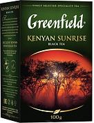 Чай черный Greenfield Kenyan Sunrise 100 гр.