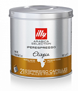 Кофе в капсулах Illy Arabica Selection Etiopia, 21 шт